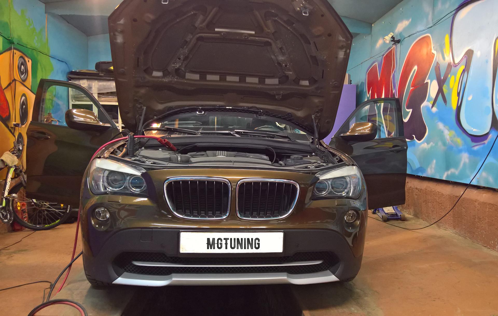 Чип-тюнинг BMW X1 E84 20D - mgtuning.ru