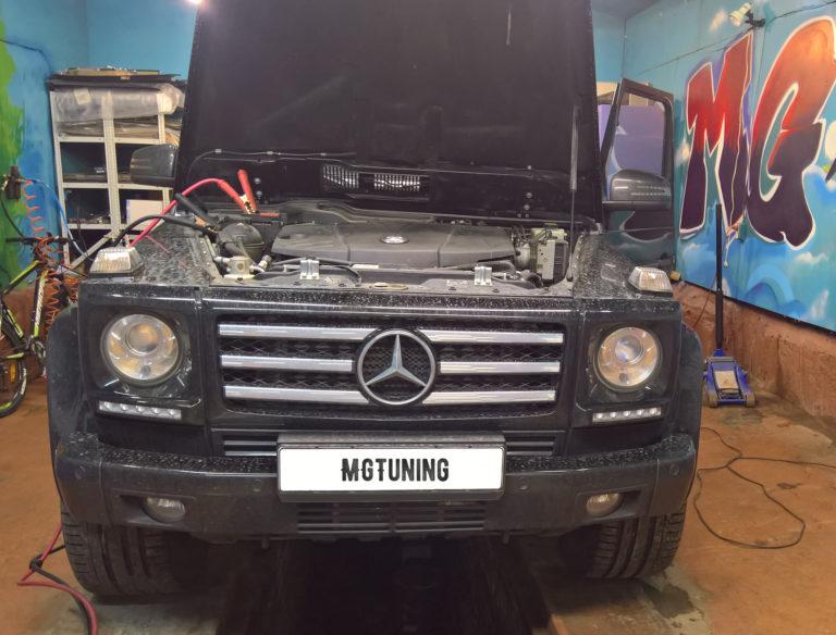 Чип-тюнинг Mercedes-Benz G350 СDI Stage1 - mgtuning.ru