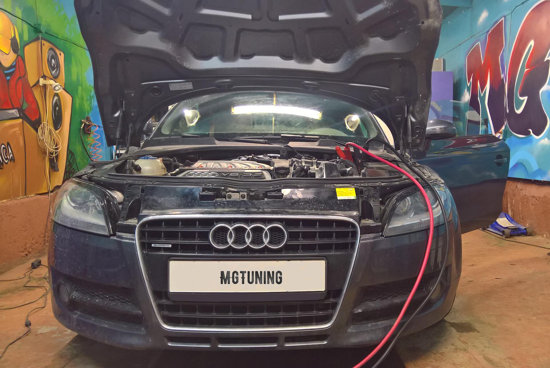 Чип тюнинг Audi TT V6 3.2