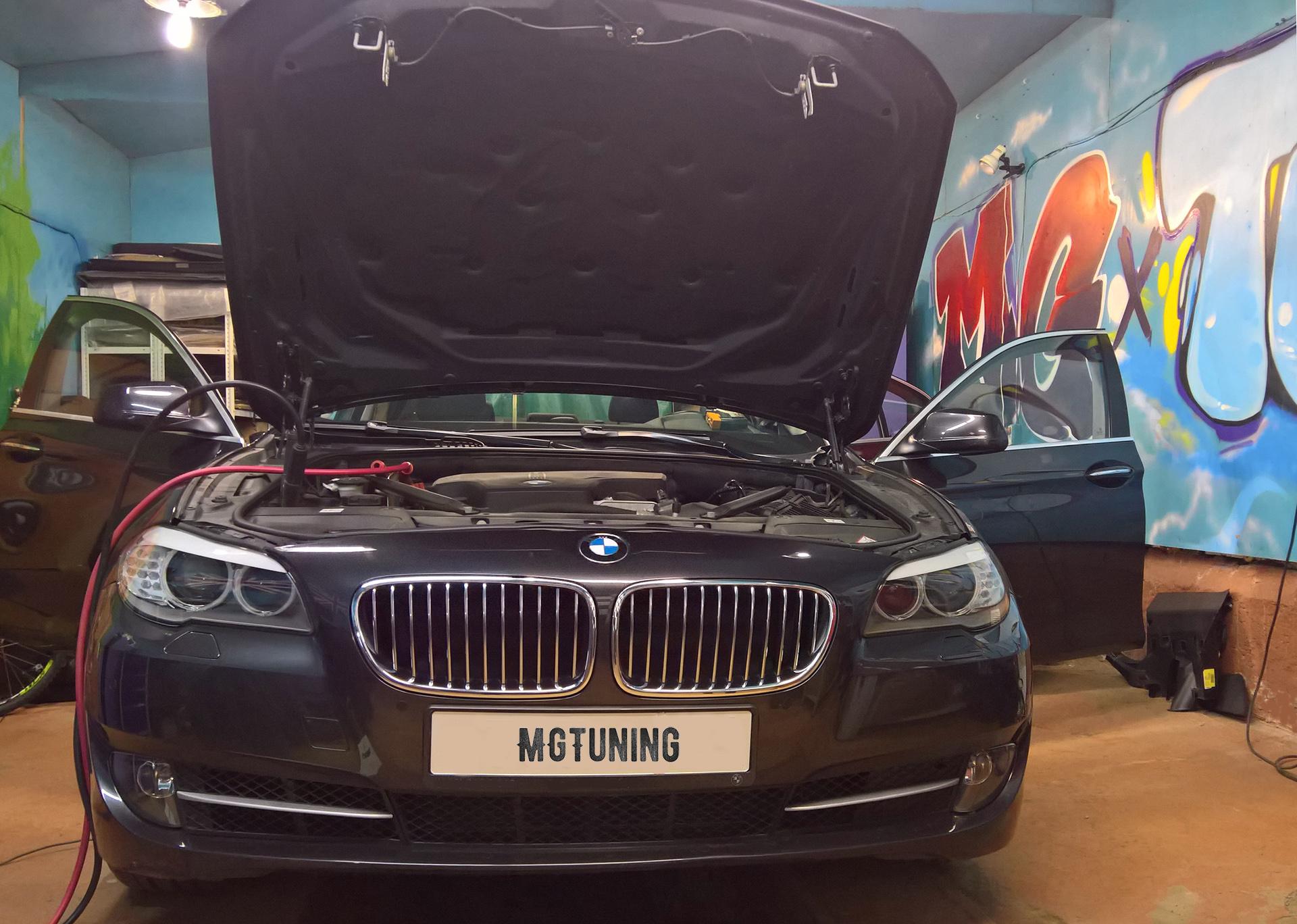 Дооснащение F10 BMW Professional NBT