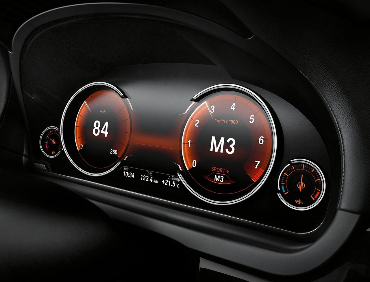 Оригинальная панель приборов LED BMW
