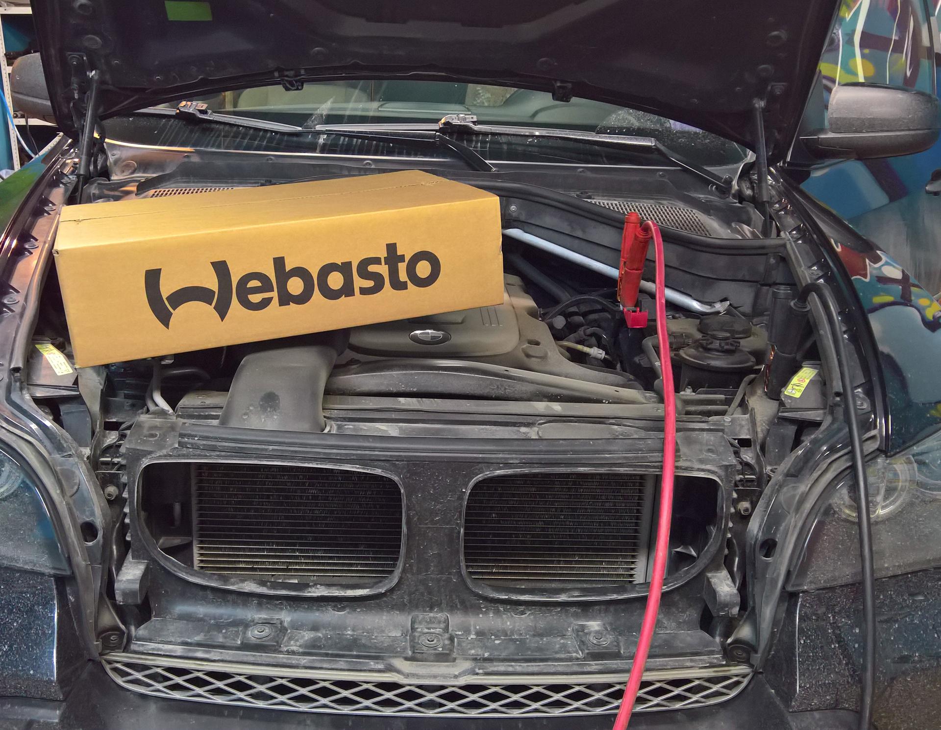 Webasto на BMW X5 E70