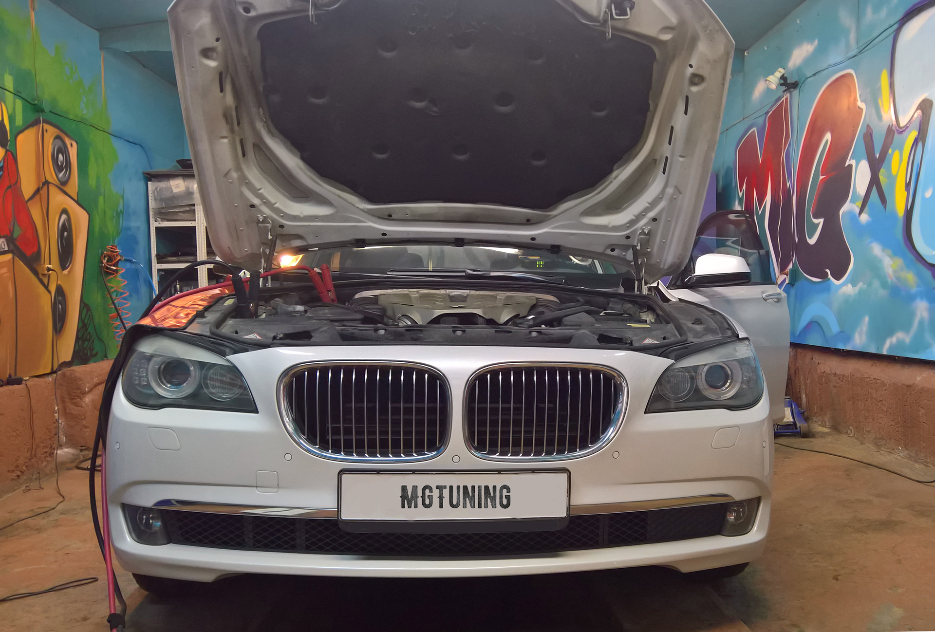 Чип тюнинг BMW 750i F01 с двигателем N63