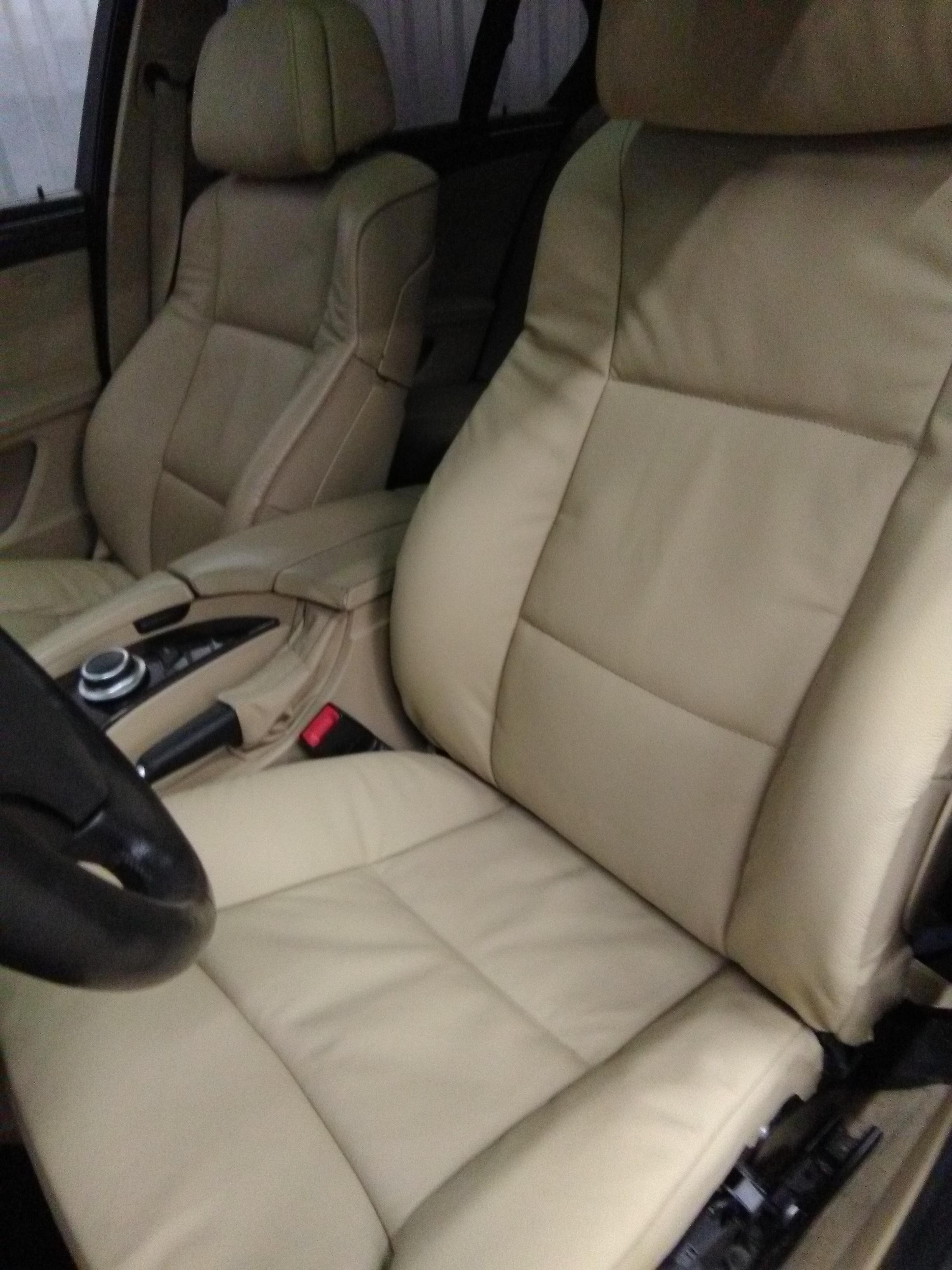 Перетяжка салона авто BMW E60