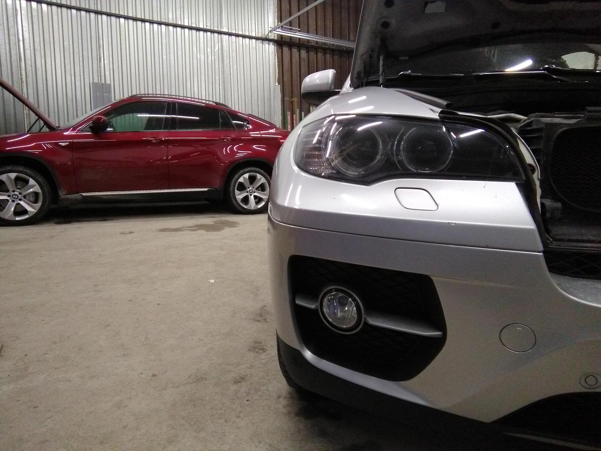 Чип тюнинг BMW X6 35i E71 Stage1