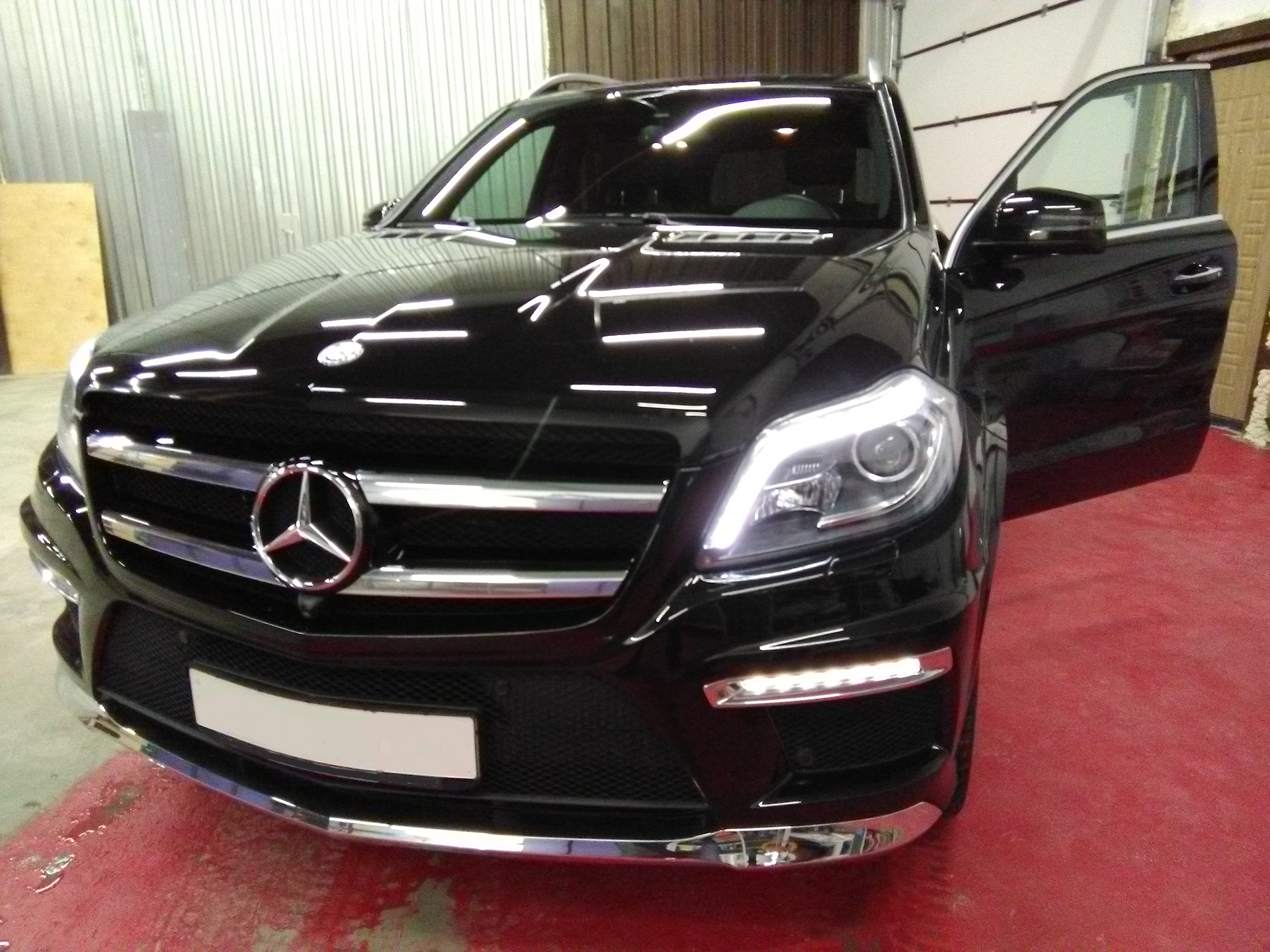 Отключение BlueTec (AdBlue) на Mercedes-Benz GL 350 CDI