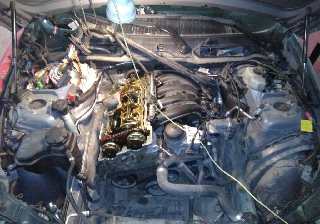 Замена маслосъемных колпачков на BMW