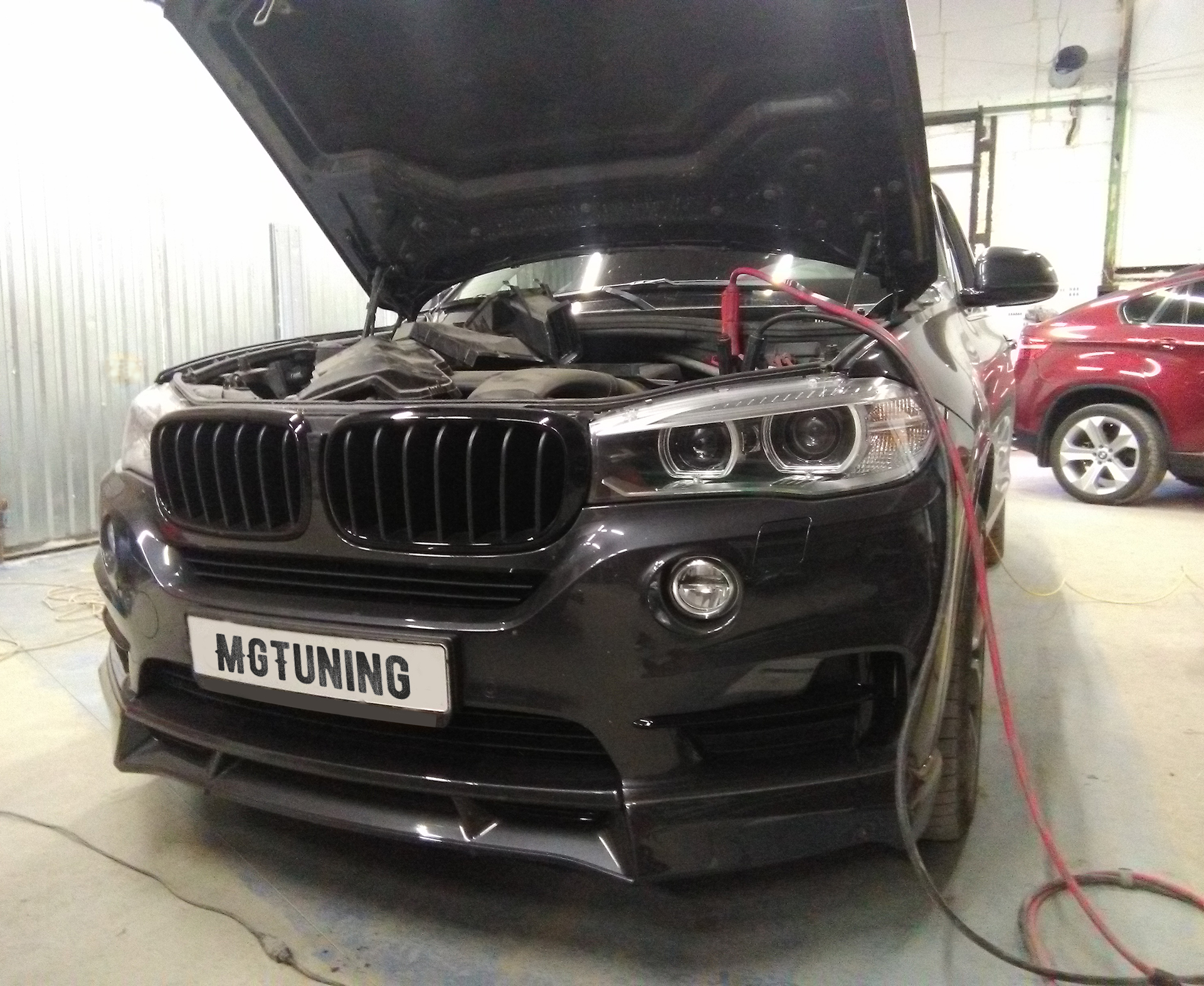 Чип тюнинг BMW X5 F15 30D с отключением EGR