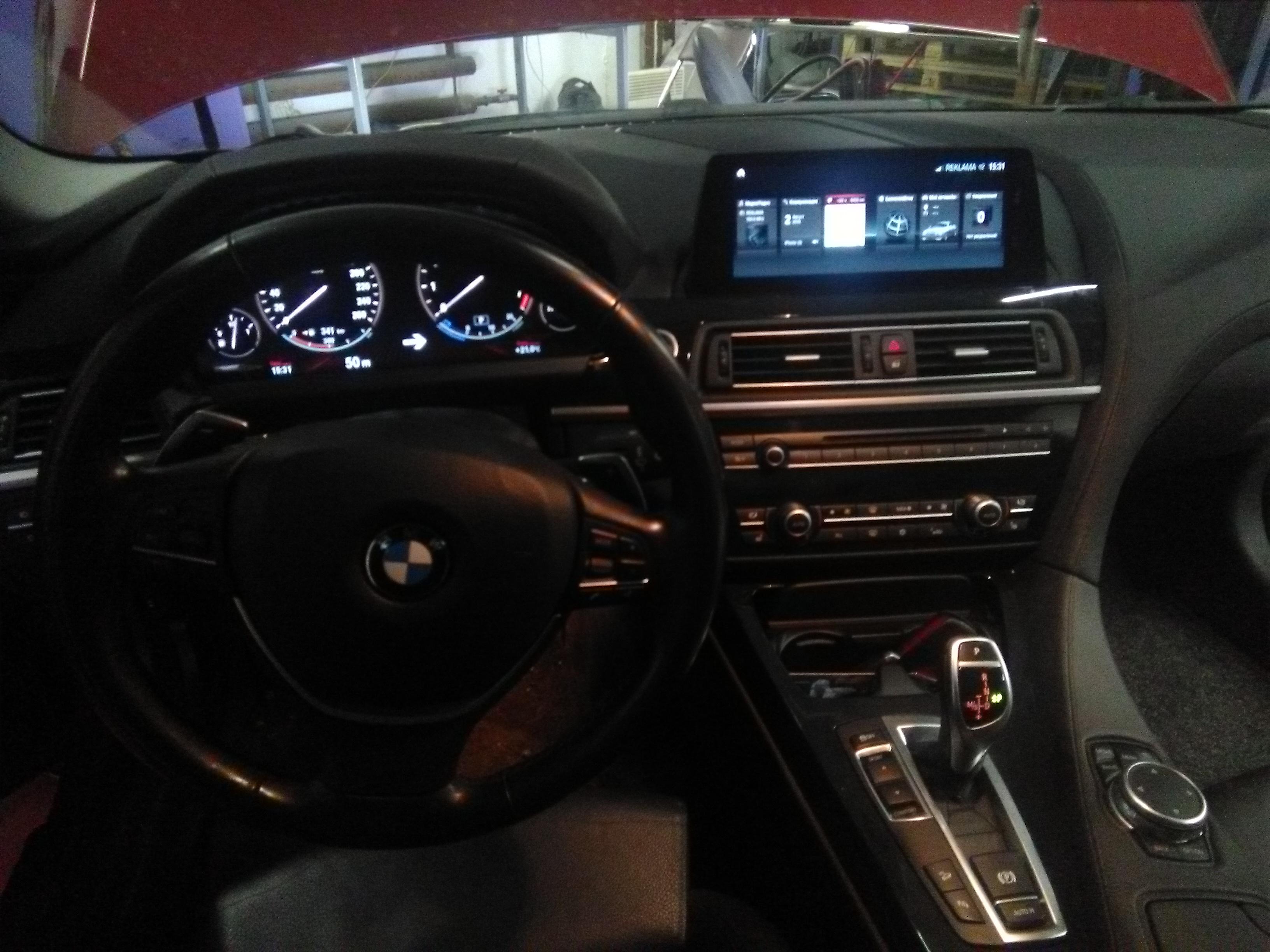 Установка NBT EVO на BMW 650i F13