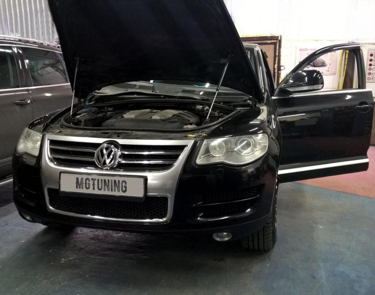 Чип тюнинг Volkswagen Touareg GP 3.0 TDI с дизельным двигателем CASA