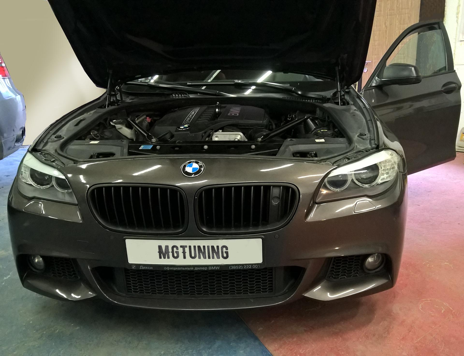 Чип тюнинг BMW F10 535i Stage2