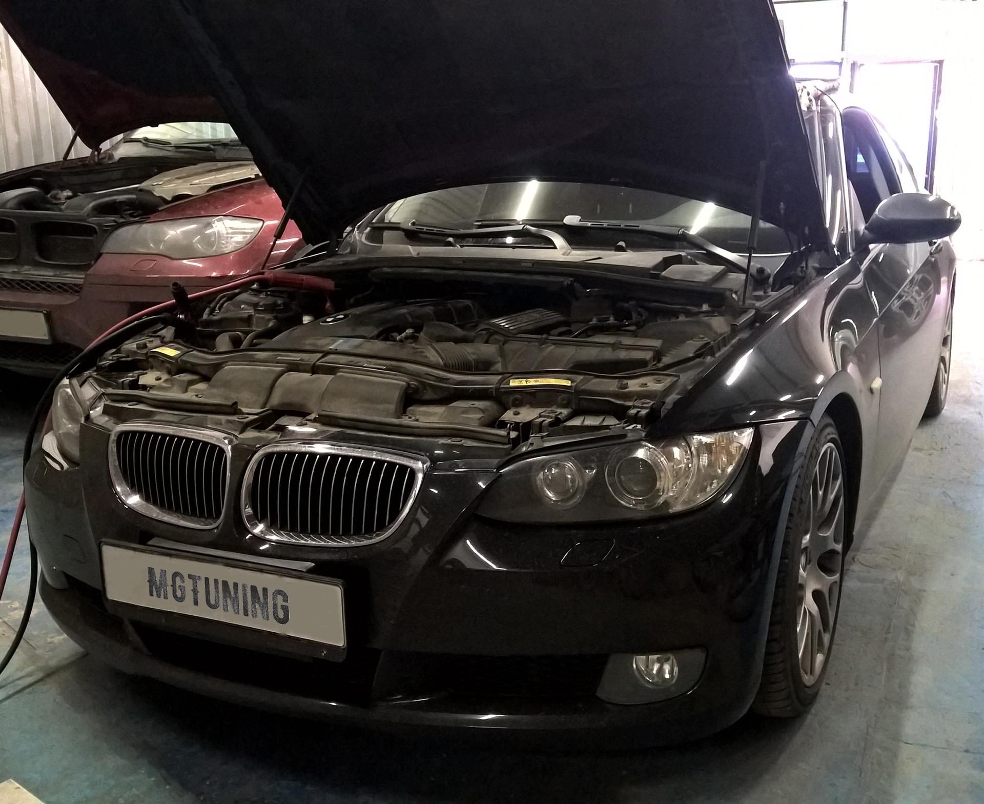 Чип тюнинг BMW E92 с двигателем N51