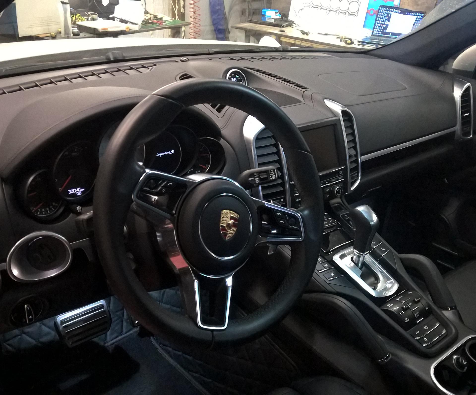 Процесс модернизации Porsche Cayenne 958 4.2 TDI