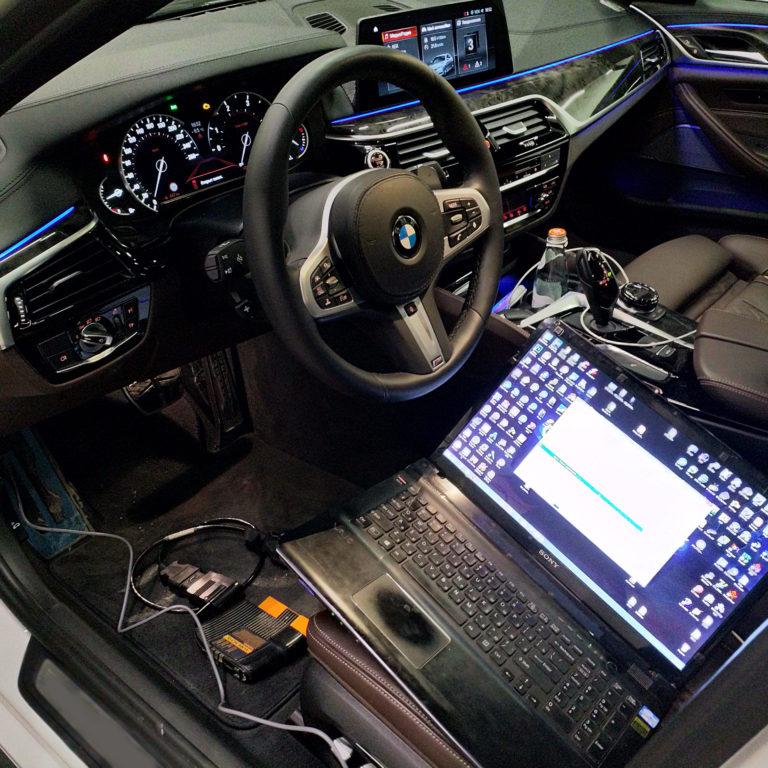 Чип тюнинг BMW G30 530i Stage1