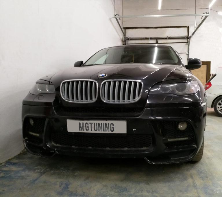 Чип тюнинг BMW X6 E71 с трехлитровым двигателем N55