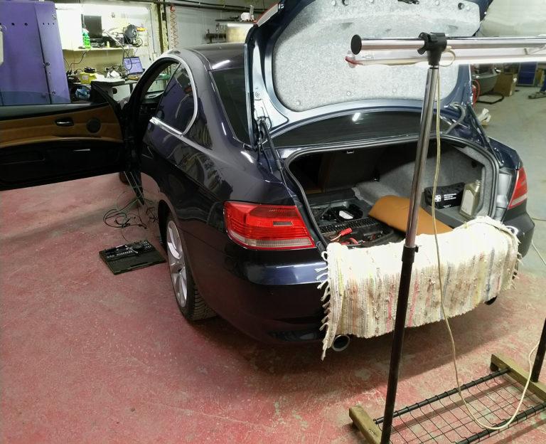 Дооснащение BMW E92 Harman/Kardon и MULF2 High