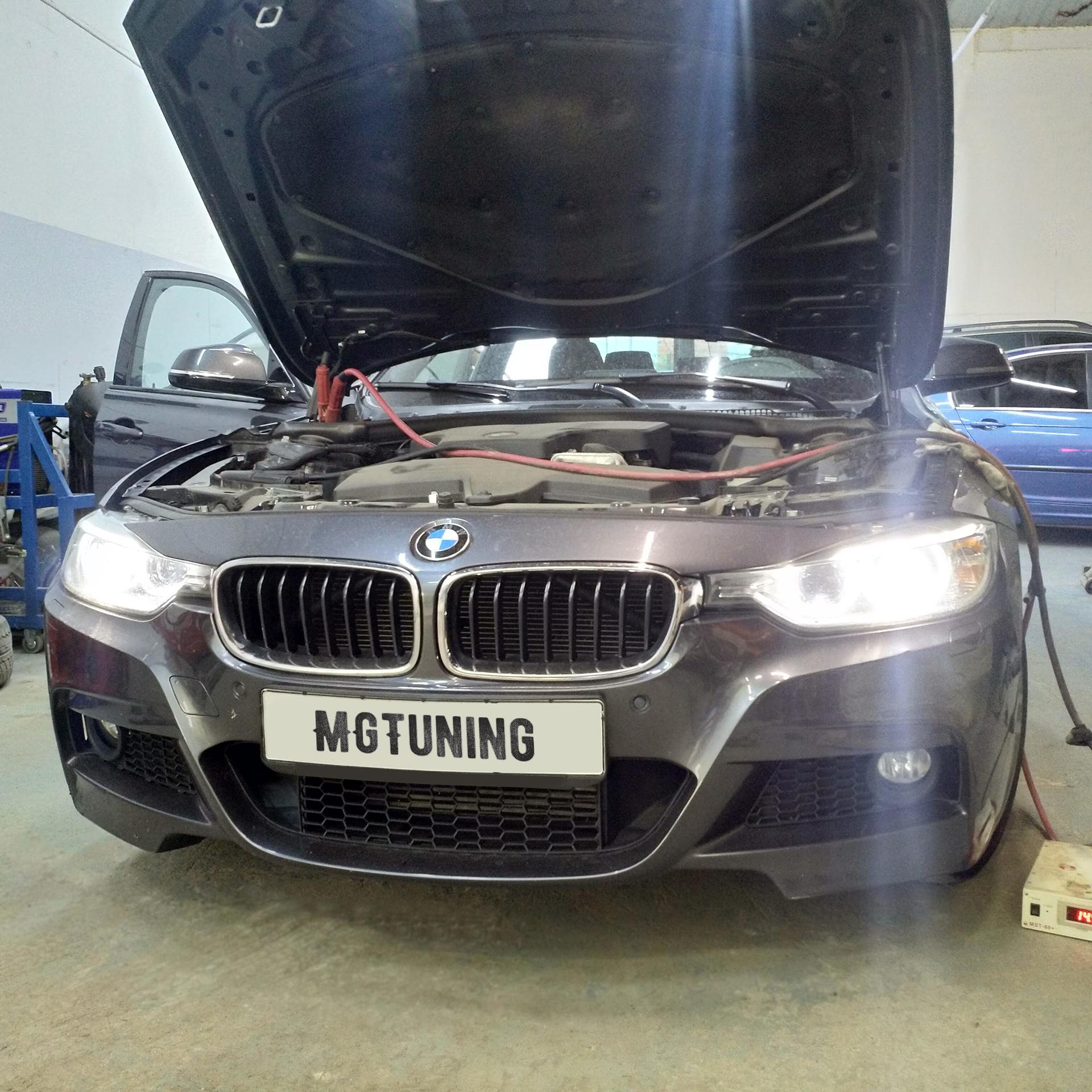Кодирование скрытых опций BMW F30
