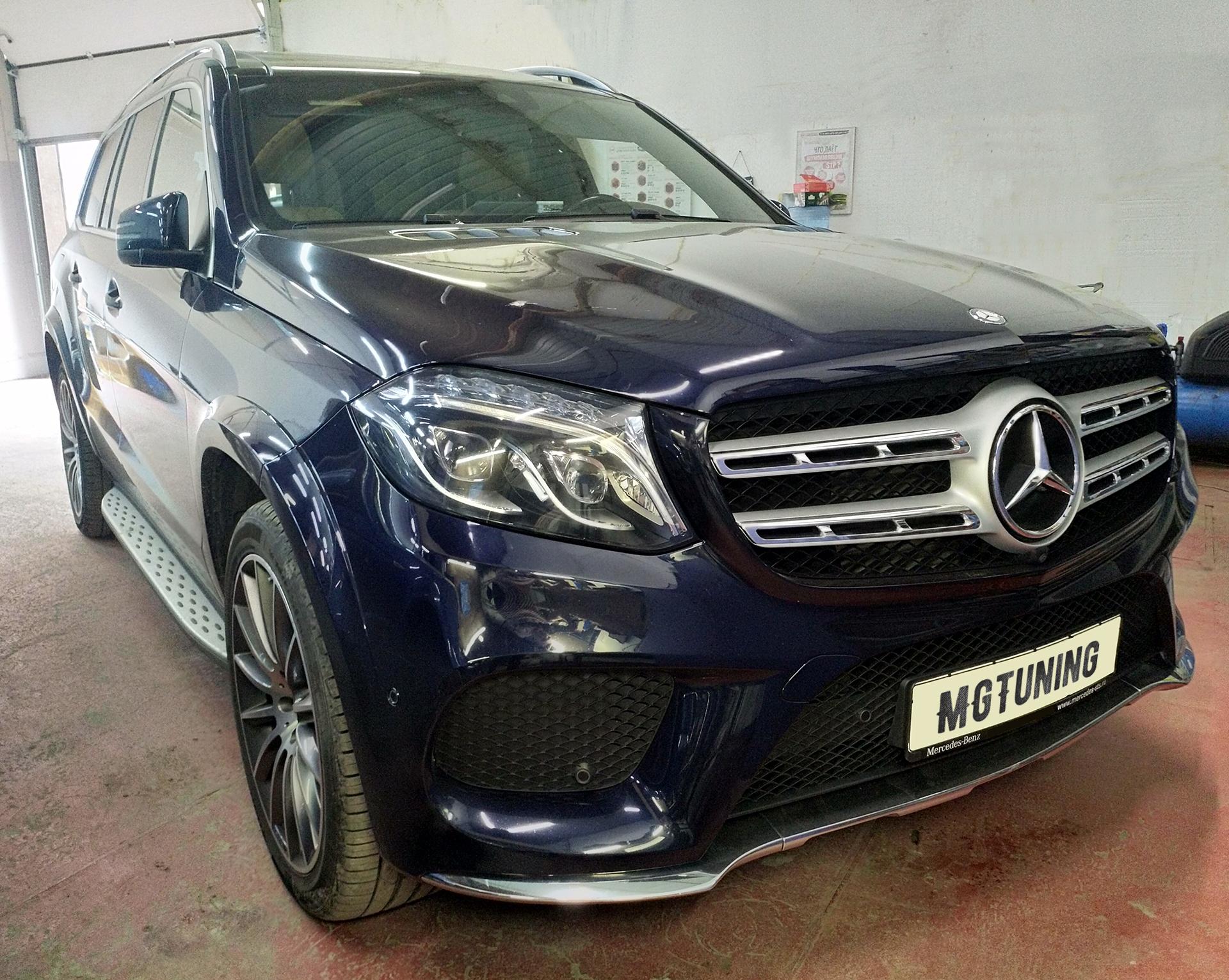 Отключение BlueTec (AdBlue) на Mercedes-Benz GLS 350 CDI
