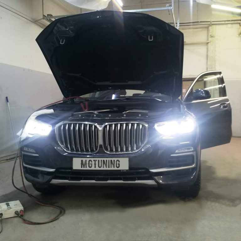 Чип тюнинг BMW X5 30D G05 с двигателем B57