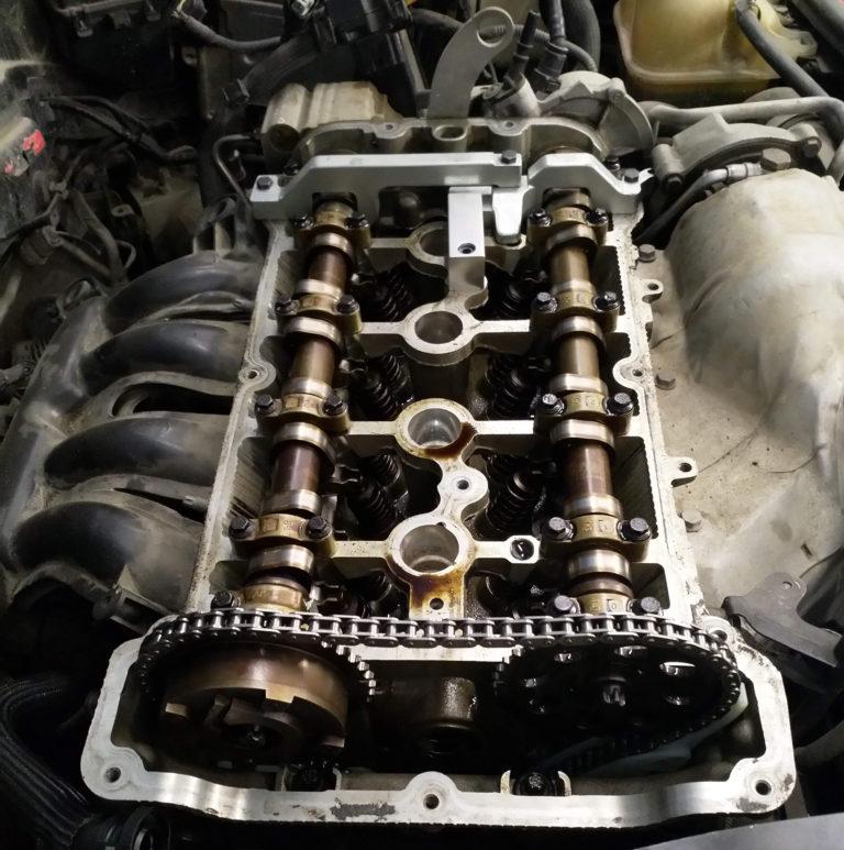 Замена цепи ГРМ на MINI Cooper S
